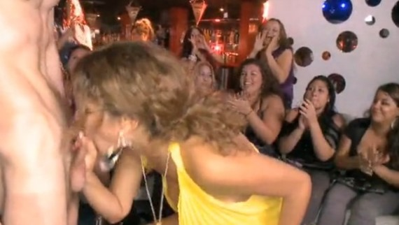 Stripper show at bachelorette party turns sexual